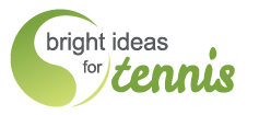 Bright Ideas for Tennis Logo