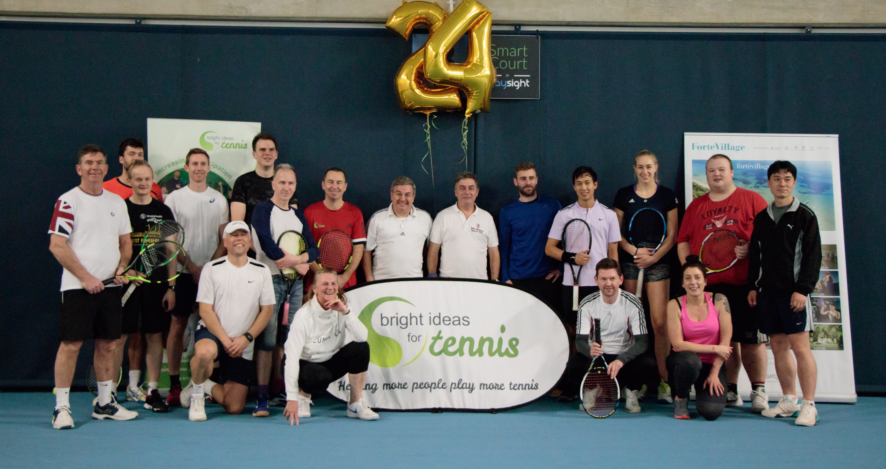 Breakpoint 2019 takes on 24hr Tennis Marathon