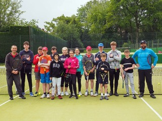 Stockton Heath Tennis Club provide a fun day for Bright ideas for Tennis!