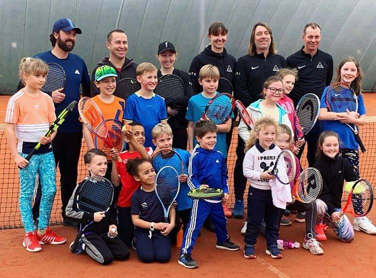 Bright Ideas for Tennis takes on Aspire Tennis Academy in Essex