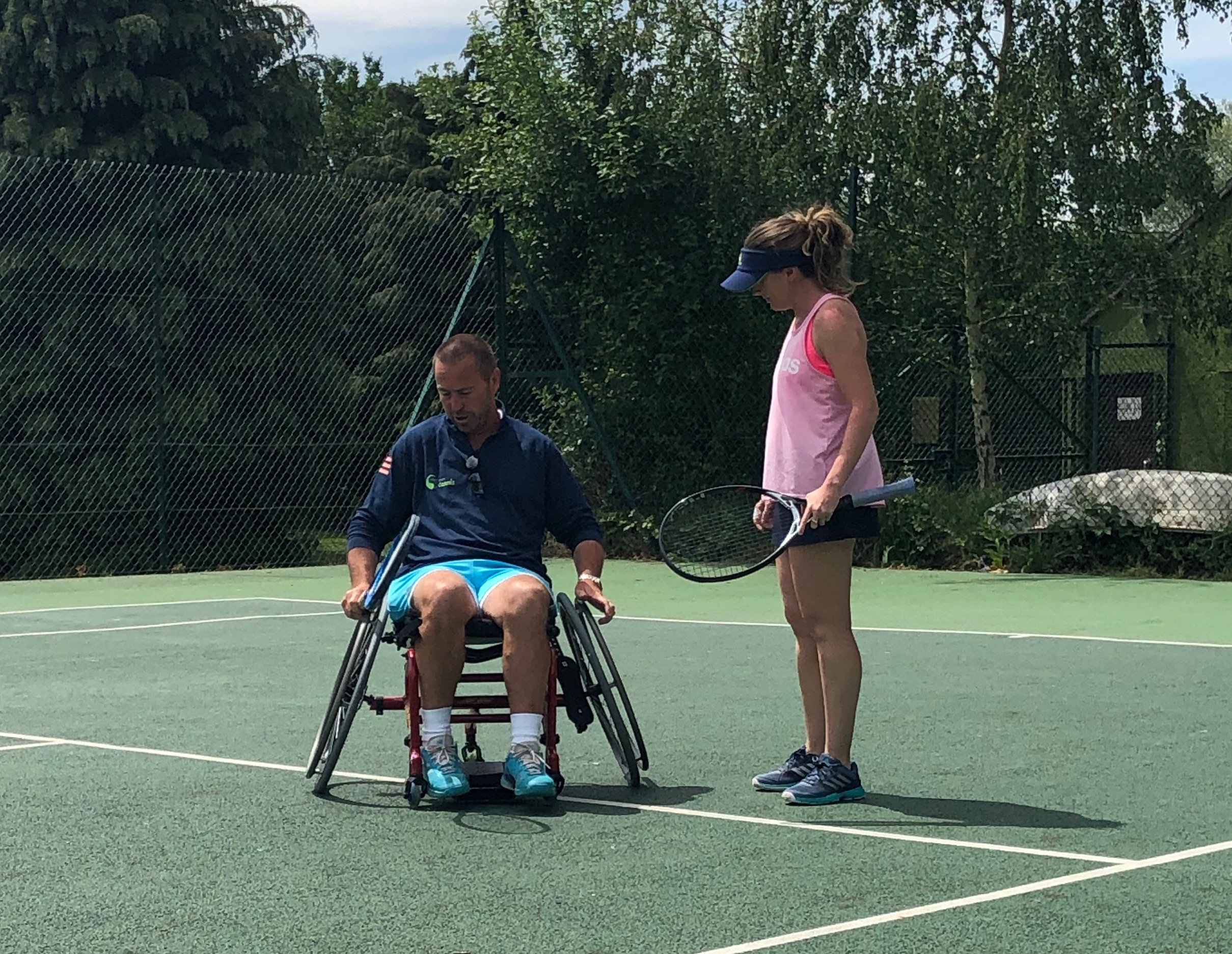 Bright Ideas for Tennis supports inclusive sports
