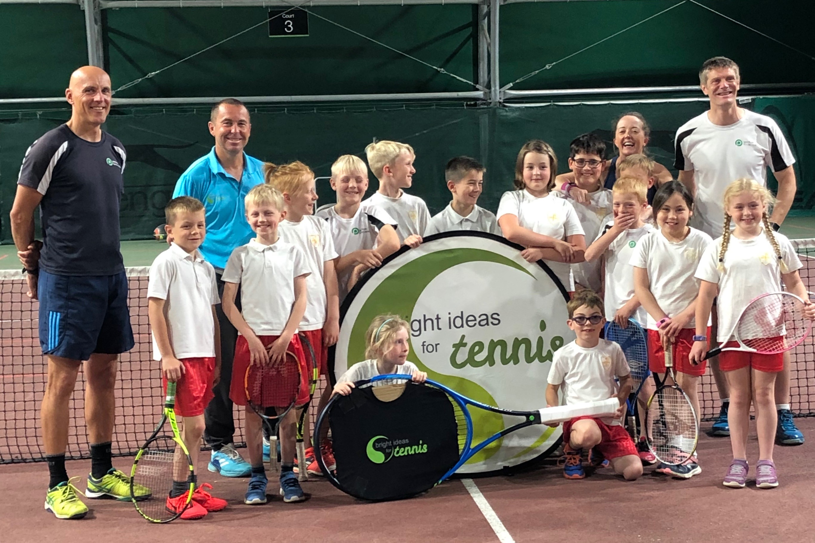 Hosted by Pershore Indoor Tennis Centre on Day 5.