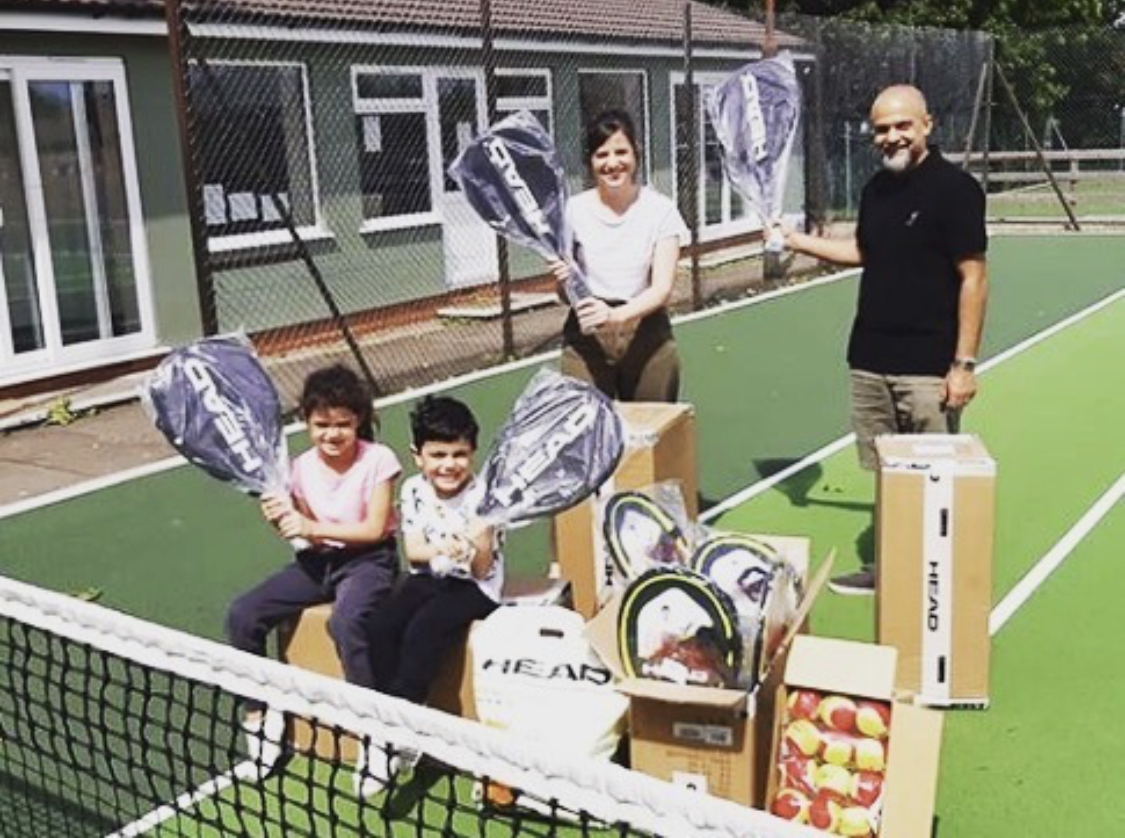 Over 100 Families Sign Up To Tennis